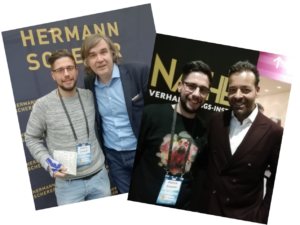 Hermann Scherer, Prof. Dr. Jack Nasher und Ich