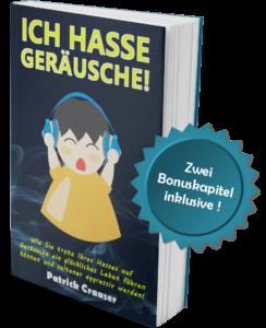 Misophonie Buch Ich hasse Geräusche mit Badge