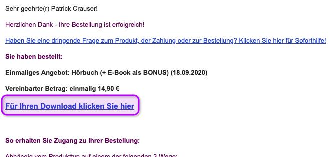 Download Link Ich hasse Geräusche Hörbuch von Digistore